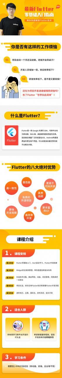 2020最新Flutter零基础入门指南