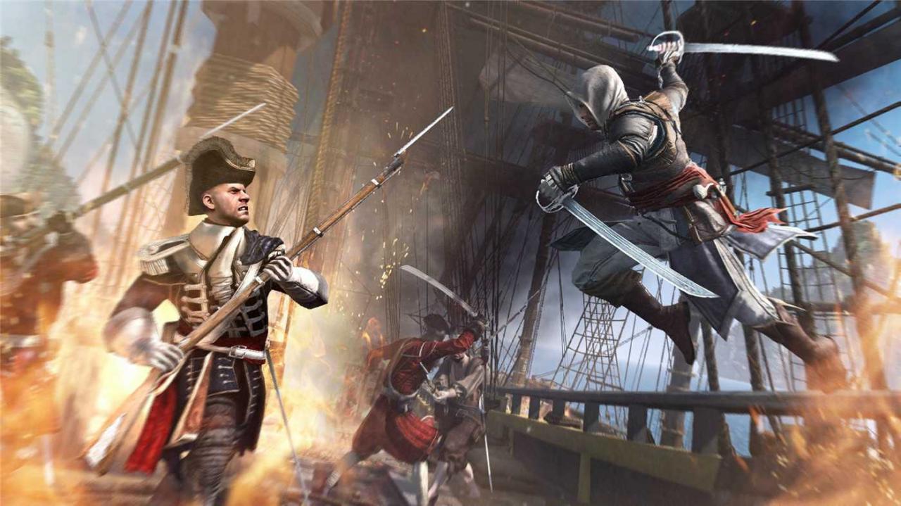 《刺客信条4:黑旗》中文版游戏下载-云奇网
