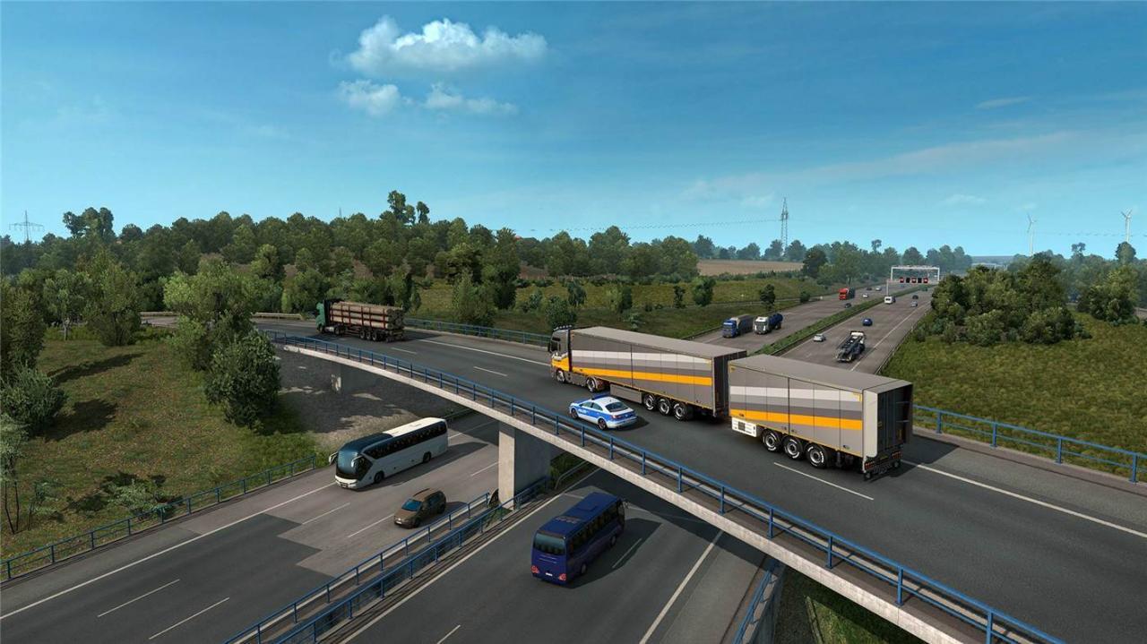 《欧洲卡车模拟2》v1.38.1.15s简体中文版游戏下载-云奇网