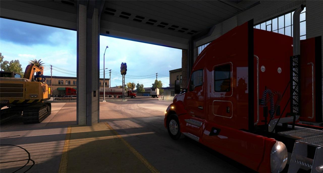 《美国卡车模拟》全DLC简体中文版-云奇网