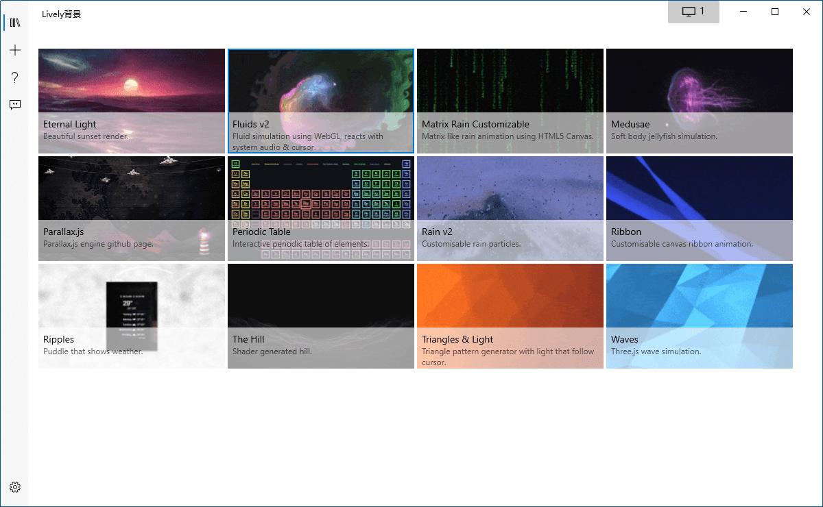 Lively Wallpaper v1.1.7.0动态视频桌面软件-云奇网