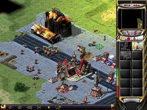 《红色警戒合集》Win10系统可玩游戏下载-云奇网
