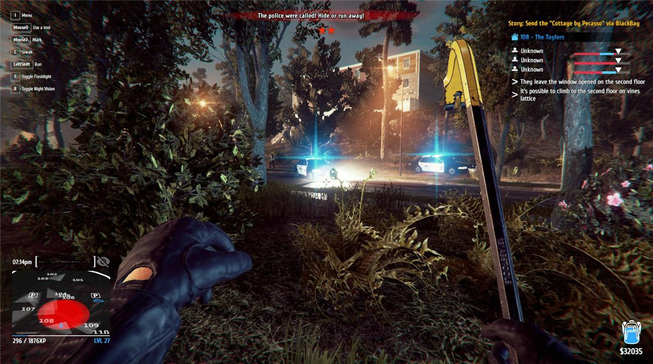 《小偷模拟器》v1.45简体中文版游戏下载-云奇网