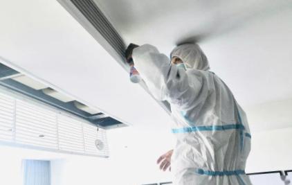 中央空调清洗过滤网的方法3