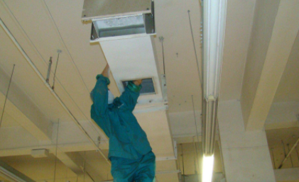 中央空调清洗过滤网的方法2