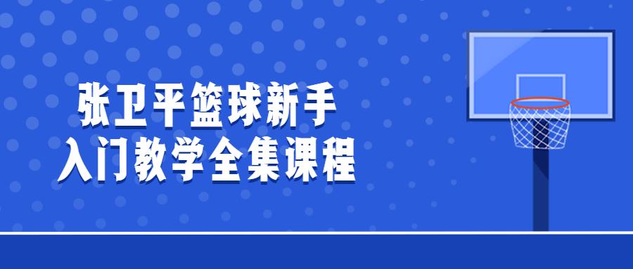 张卫平篮球新手入门教学全集课程-云奇网