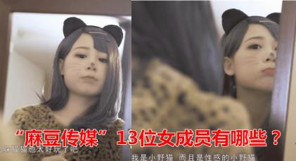 """""""麻豆传媒""""被举报的13位女成员都有谁"""