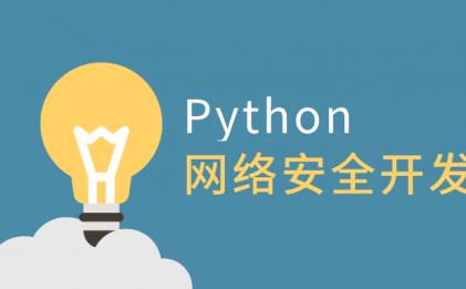 Python网络安全开发全套视频教程