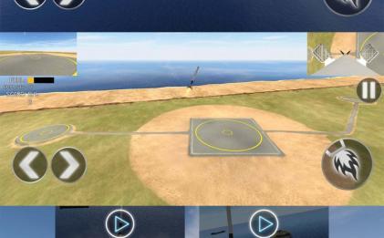 安卓手机飞行模拟游戏 一级着陆模拟器