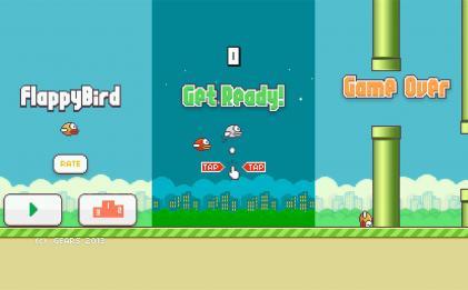 娱乐闯关游戏 像素鸟