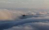 飞机上拍到了天宫海市蜃楼是真的吗