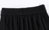 黑色裤子很多粘白色的东西是什么
