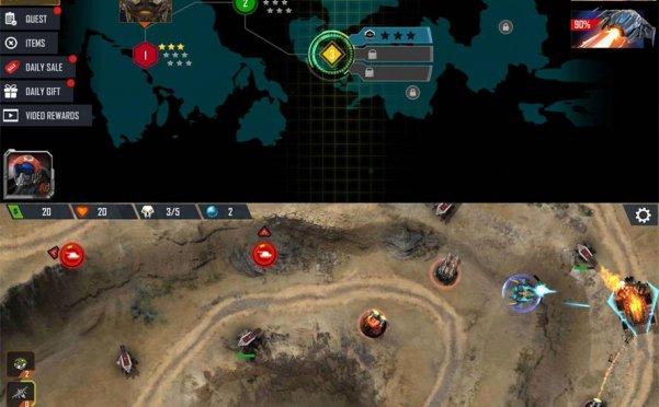 科幻塔防游戏 防御传奇4
