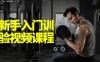 健身新手入门训练经验视频课程