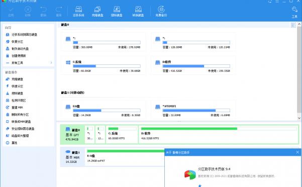 分区助手技术员v9.4.1特别版