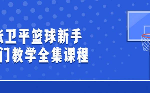 张卫平篮球新手入门教学全集课程
